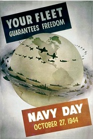 Navy Day 1944 poster