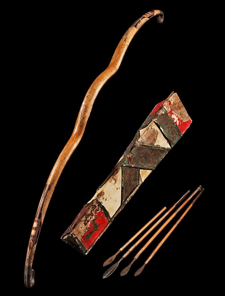 Scythian bamboo  Bow, Quiver and Arrows, c. 3rd-1st Century BC.jpg
