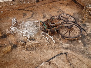 Thracian chariot burial