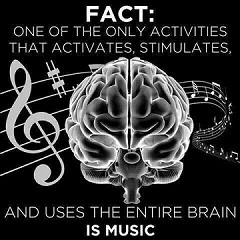 Music & brains poster