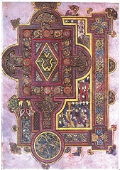 art from Book of Kells