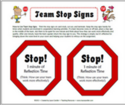 Team Stop Signs